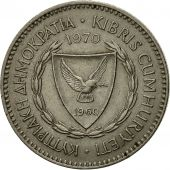 Chypre, 50 Mils, 1970, TTB, Copper-nickel, KM:41