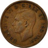 Canada, George VI, Cent, 1943, Royal Canadian Mint, Ottawa, TTB, Bronze, KM:32