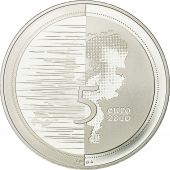 Pays-Bas, 5 Euro, 2010, FDC, Argent, KM:296