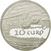 Italie, 10 Euro, 2010, FDC, Argent, KM:334