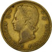 French West Africa, 25 Francs, 1956, Paris, TTB, Aluminum-Bronze, KM:7