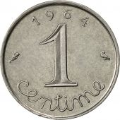 France, Épi, Centime, 1964, Paris, TTB+, Stainless Steel, KM:928, Gadoury:91