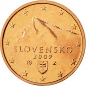 Slovaquie, 2 Euro Cent, 2009, FDC, Copper Plated Steel, KM:96