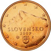 Slovaquie, 5 Euro Cent, 2009, FDC, Copper Plated Steel, KM:97