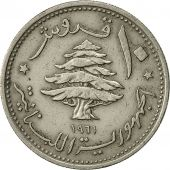 Lebanon, 10 Piastres, 1961, TTB+, Copper-nickel, KM:24