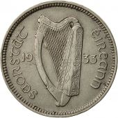 IRELAND REPUBLIC, 3 Pence, 1933, AU(50-53), Nickel, KM:4