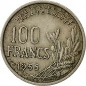 France, Cochet, 100 Francs, 1955, Paris, TTB, Copper-nickel, KM:919.1
