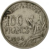 France, Cochet, 100 Francs, 1954, Paris, TB+, Copper-nickel, KM:919.1