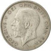Grande-Bretagne, George V, 1/2 Crown, 1933, TTB, Argent, KM:835