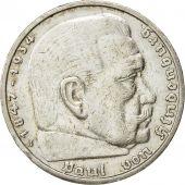 Allemagne, IIIème Reich, 5 Reichsmark, 1935, Hambourg, TTB, Argent, KM:86