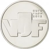 Netherlands, 5 Euro, Sculpture, 2012, MS(65-70), Silver, KM:328