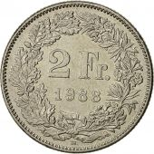Monnaie, Suisse, 2 Francs, 1988, Bern, TTB+, Copper-nickel, KM:21a.3