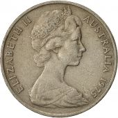 Coin, Australia, Elizabeth II, 20 Cents, 1975, EF(40-45), Copper-nickel, KM:66