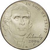 Monnaie, États-Unis, Jefferson large facing portrait - Enhanced Monticello