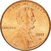 Coin, United States, Lincoln - Shield Reverse, Cent, 2011, U.S. Mint, Denver