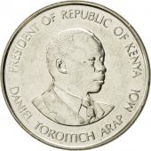 Coin, Kenya, Shilling, 1994, British Royal Mint, AU(50-53), Nickel plated steel
