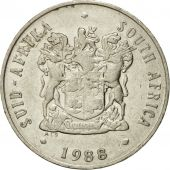 Coin, South Africa, 20 Cents, 1988, EF(40-45), Nickel, KM:86