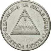 Coin, Nicaragua, 50 Centavos, 1994, EF(40-45), Chromium Plated Steel, KM:83