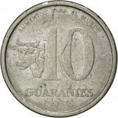 Coin, Paraguay, 10 Guaranies, 1978, EF(40-45), Stainless Steel, KM:167
