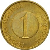 Coin, Slovenia, Tolar, 1998, EF(40-45), Nickel-brass, KM:4