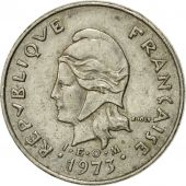 Monnaie, French Polynesia, 10 Francs, 1973, Paris, TTB, Nickel, KM:8
