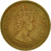 Coin, Hong Kong, Elizabeth II, 10 Cents, 1965, EF(40-45), Nickel-brass, KM:28.1