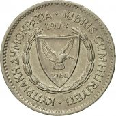 Coin, Cyprus, 50 Mils, 1974, EF(40-45), Copper-nickel, KM:41