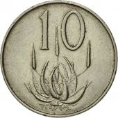 Coin, South Africa, 10 Cents, 1965, EF(40-45), Nickel, KM:68.2
