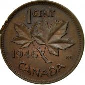 Coin, Canada, George VI, Cent, 1946, Royal Canadian Mint, Ottawa, EF(40-45)