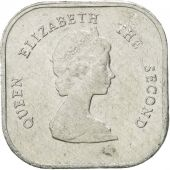 Coin, East Caribbean States, Elizabeth II, 2 Cents, 1994, EF(40-45), Aluminum