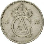 Coin, Sweden, Gustaf VI, 50 Öre, 1973, EF(40-45), Copper-nickel, KM:837