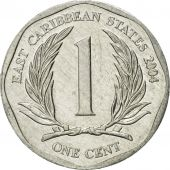 Coin, East Caribbean States, Elizabeth II, Cent, 2004, British Royal Mint
