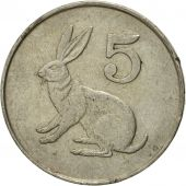 Coin, Zimbabwe, 5 Cents, 1980, EF(40-45), Copper-nickel, KM:2