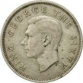 Coin, New Zealand, George VI, Florin, 1949, EF(40-45), Copper-nickel, KM:18