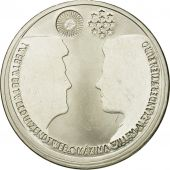 Netherlands, 10 Euro, 2002, MS(63), Silver, KM:243