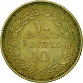 Coin, Lebanon, 10 Piastres, 1972, Paris, EF(40-45), Nickel-brass, KM:26