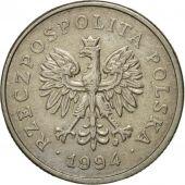 Coin, Poland, Zloty, 1994, Warsaw, EF(40-45), Copper-nickel, KM:282