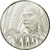 France, 25 Euro, Lluis Muncunill, 1998, MS(63), Silver