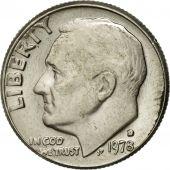 Coin, United States, Roosevelt Dime, Dime, 1978, U.S. Mint, Denver, AU(50-53)