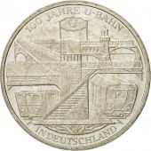 GERMANY - FEDERAL REPUBLIC, 10 Euro, 2002, MS(60-62), Silver, KM:216