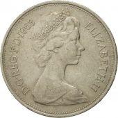 Monnaie, Grande-Bretagne, Elizabeth II, 10 New Pence, 1968, TTB, Copper-nickel