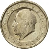 Coin, Norway, Olav V, 10 Kroner, 1991, AU(50-53), Nickel-brass, KM:427