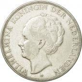 Coin, Netherlands, Wilhelmina I, 2-1/2 Gulden, 1930, AU(50-53), Silver, KM:165