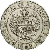 Monnaie, Pérou, 10 Soles, 1969, Paris, SUP, Copper-nickel, KM:253