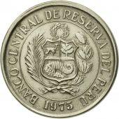 Monnaie, Pérou, 5 Soles, 1975, Lima, SUP, Copper-nickel, KM:267