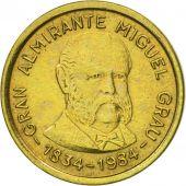 Monnaie, Pérou, 10 Soles, 1984, Lima, TTB+, Laiton, KM:287