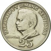 Monnaie, Philippines, 25 Sentimos, 1972, TTB, Copper-Nickel-Zinc, KM:199
