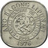 Coin, Philippines, Sentimo, 1976, AU(55-58), Aluminum, KM:205