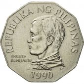 Monnaie, Philippines, 2 Piso, 1990, SUP, Copper-nickel, KM:244