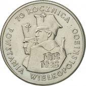 Coin, Poland, 100 Zlotych, 1988, Warsaw, MS(60-62), Copper-nickel, KM:182